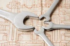 Schlüssel der verschiedenen Größen Stockbilder