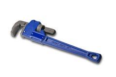 Schlüssel des Klempners, getrennt Stockfoto