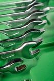 Schlüssel in einem toolbock Lizenzfreie Stockfotos