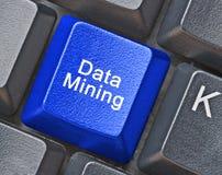 Schlüssel für Data - Mining Lizenzfreie Stockfotos