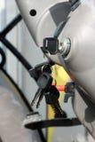 Schlüssel für Maschinenanfang Stockbilder