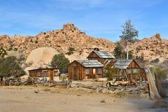 Schlüssel-Ranch-Haus und Speicher stockfotos