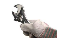 Schlüssel und Hand Stockfotografie