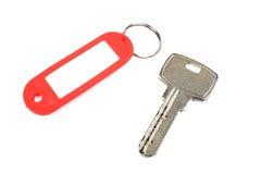 Schlüssel- und roter Trinket. stockbild