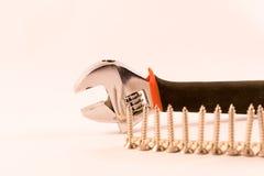 Schlüssel und Schrauben Lizenzfreie Stockfotografie