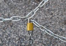 Schlüssel und Verschluss Lizenzfreies Stockfoto