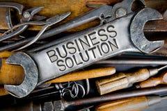 Schlüssel-und Werkzeug-Konzept Stockfotos