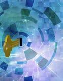 Schlüssel und Zusammenfassung Lizenzfreies Stockfoto
