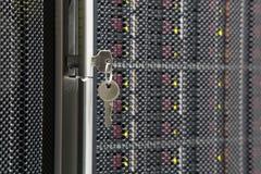 Schlüssel vom Servergestell Lizenzfreie Stockfotografie