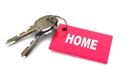 Schlüssel zum Haus Stockbilder