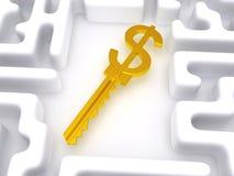 Schlüssel zum Labyrinth Lizenzfreie Stockfotografie