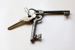 Schlüsselblock Stockfoto