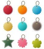 Schlüsselketten-Marken-Vektor lizenzfreie abbildung