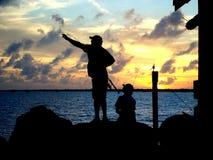 Schlüssellargo-Sonnenuntergang Stockbilder