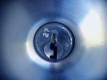 Schlüsselloch lizenzfreie stockfotografie
