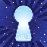 Schlüsselloch Vektor Abbildung
