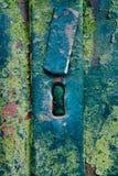 Schlüsselloch lizenzfreies stockfoto