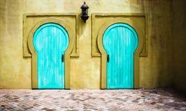 Schlüsselloch-Türen stockfotografie