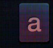 Schlüsselmakro Amoled Bildschirms A Lizenzfreie Stockbilder