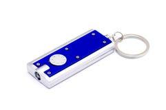 Schlüsselring mit Taschenlampe Lizenzfreies Stockfoto