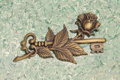Schlüsselskulptur Stockfotos