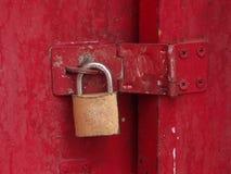 Schlüsselverriegelung Lizenzfreies Stockfoto