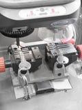 Schlüsselvervielfältigungsmaschine Stockbild