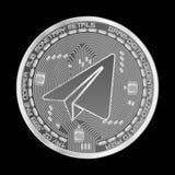 Schlüsselwährungsgramm-Silbersymbol Lizenzfreie Stockfotografie