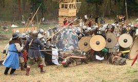 Schlachtfeld Stockbild