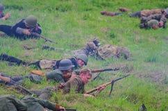 Schlachtfeld-Militärfestival Lizenzfreie Stockfotografie