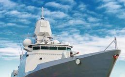 Schlachtschiff Lizenzfreie Stockbilder