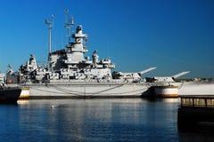 Schlachtschiff USS Massacusetts Stockbilder