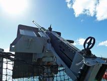 Schlachtschiffmaschinengewehr Lizenzfreie Stockfotografie
