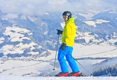 schladming σκι θερέτρου της Αυστ australites Στοκ φωτογραφία με δικαίωμα ελεύθερης χρήσης