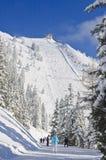 schladming σκι θερέτρου της Αυστ australites Στοκ Φωτογραφία