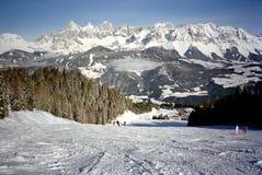 Schladming Ski Slopes Royalty Free Stock Photos