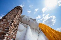 Schlaf Buddha in Thailand Lizenzfreies Stockfoto