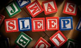 Schlaf für neue Eltern lizenzfreie stockfotografie