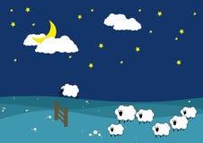Schlaf fest Lizenzfreie Stockfotos