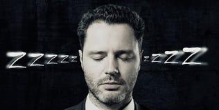Schlaf-Konzept stockfotografie