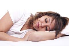 Schlaf und Träume Stockbild