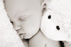 Schlafen neugeboren Stockfoto