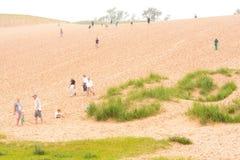 Schlafenbärn-Dünen in Michigan, Vereinigte Staaten lizenzfreie stockfotografie