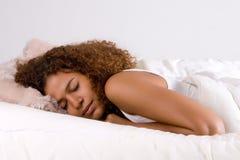 Schlafende afrikanische Prinzessin Stockfotos