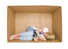 Schlafende Frau stockfotografie
