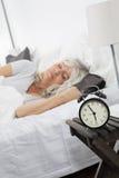 Schlafende Frau Stockbilder