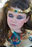 Schlafende Kleopatra Stockbild