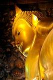 Schlafender Buddha Stockfotos