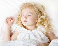 Schlafendes Kind Stockfoto