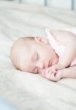 Schlafendes Schätzchen Stockfotografie